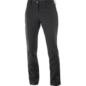 Salomon Wayfarer Straight LT Naiset Pitkät housut , musta